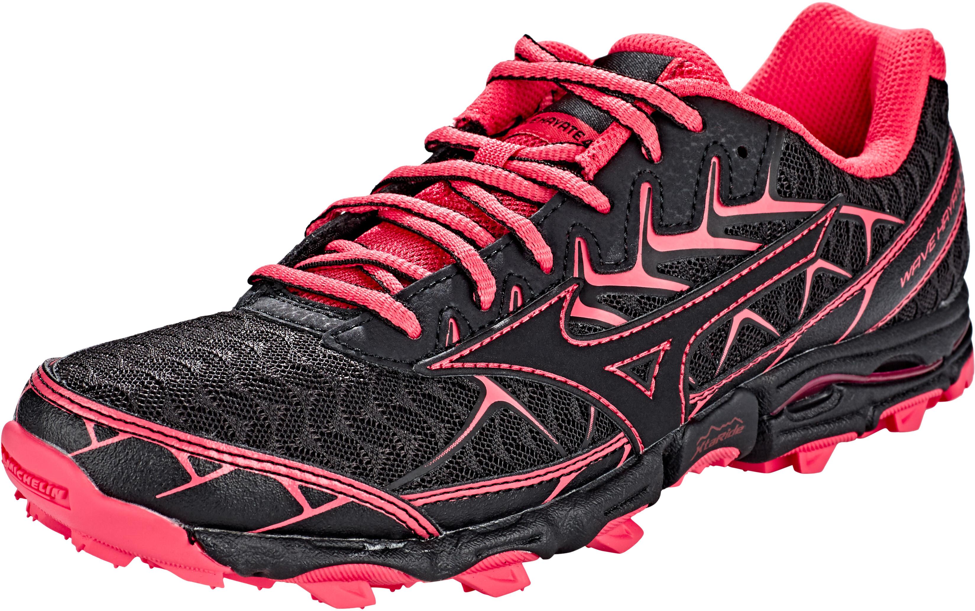 low priced 671be ad689 Mizuno Wave Hayate 4 - Chaussures running Femme - rose noir